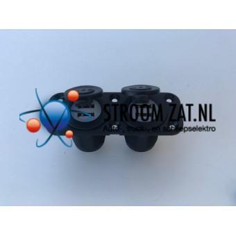 DubbelUSB stopcontact